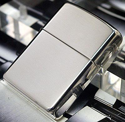 Zippo Armor Sterling Silver High Polish