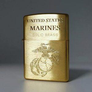 Zippo khắc Logo quân đội-Mã: 204KS