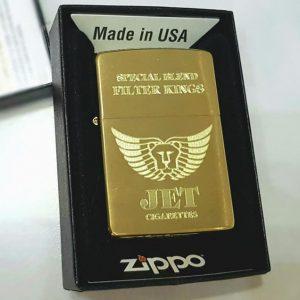 Zippo khắc bao thuốc Jet-Mã: 204bKS-204b