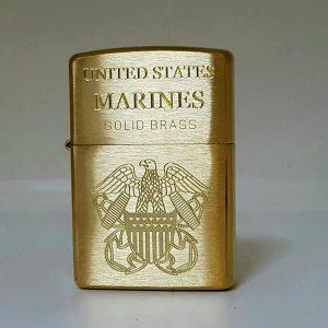 Zippo khắc Logo quân đội Mỹ-Mã: 204KS