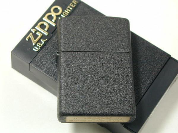 Zippo Black Crackle-Zippo 236