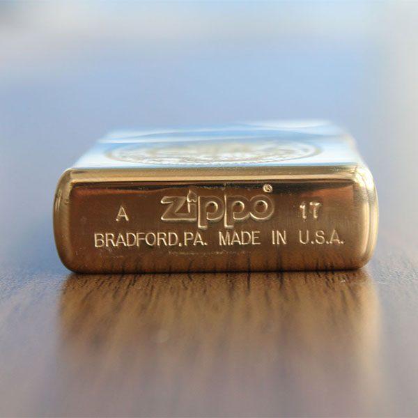 Zippo khắc sâu CNC Rồng tròn - Mã: 254BRT