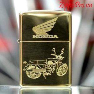 Zippo khắc sâu CNC xe Honda - Mã: 254BHD