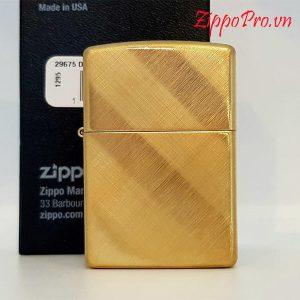 Zippo Diagonal Weave Brass- Mã: 29675